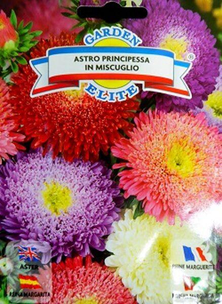 Asteres ķīnas princešu PRINCIPESSA MIX 1 g Galassi Sementi