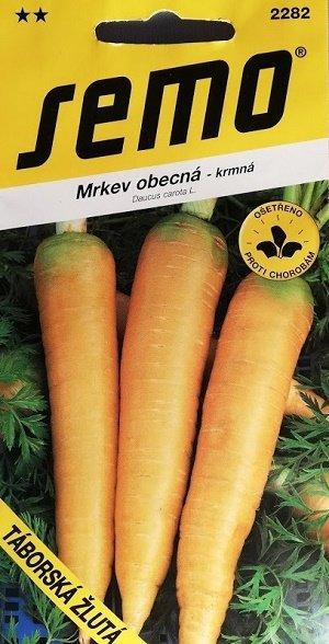 Burkāni TABORSKA ZLUTA 2.5 g SEMO