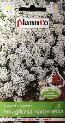 """Jūrmalas lobulārija (Saldā alise) balta 0.5 g """"PlantiCo"""""""
