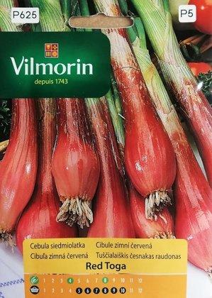 Lielloku sīpoli Red Toga 1 g Vilmorin