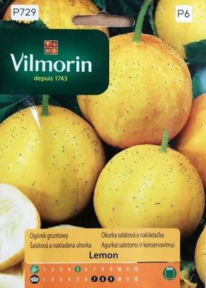 Gurķu lauka Lemon  1.5 g Vilmorin