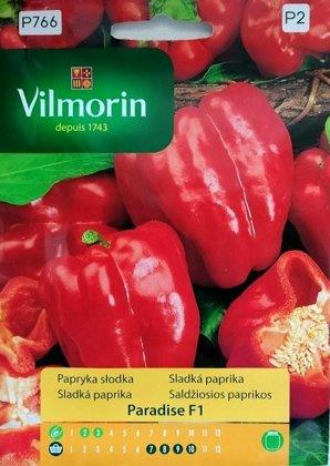 Paprika saldā PARADISE F1 500 mg Vilmorin