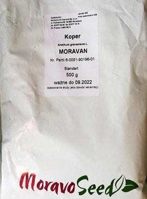 Dilles MORAVAN  500 g  Moravo Seed
