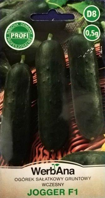 Gurķi JOGGER F1 (salātu) 0.5 g WerbAna