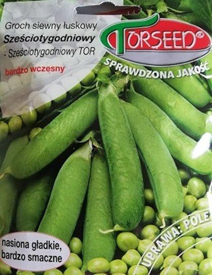 Zirņi Sešas nedēļas - Sześciotygodniowy  50 g Torseed