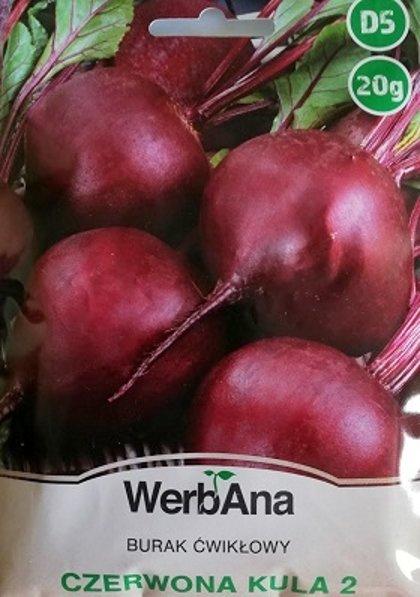 Bietes Czerwona kula 2 20 g WerbAna