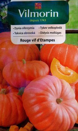 Ķirbis  ROUGE VIF d'ETAMPES 3 g Vilmorin