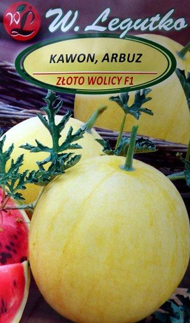 Arbūzi ZLOTO WOLICE F1 1 g W.Legutko