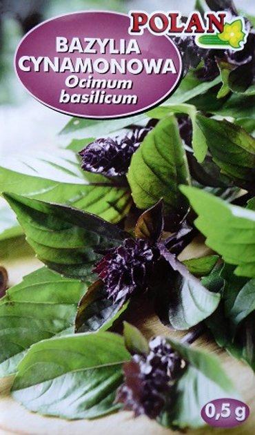 Baziliks Bazylia cynamonowa 0.5 g Polan