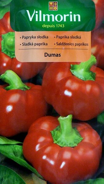 Paprika saldā DUMAS 500 mg Vilmorin