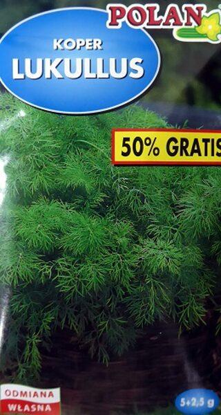 Dilles LUKULLUS 5+2.5 g  Polan