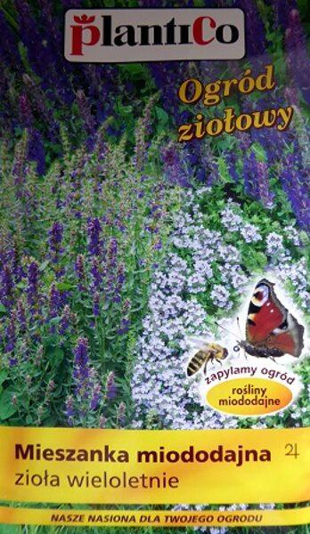 Ziedu sēklu maisījums tauriņu un bišu pievilināšanai daudzgadīgs 1 g PlantiCo