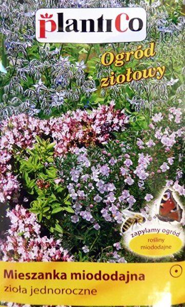 Ziedu sēklu maisījums tauriņu un bišu pievilināšanai viengadīgs 2 g PlantiCo
