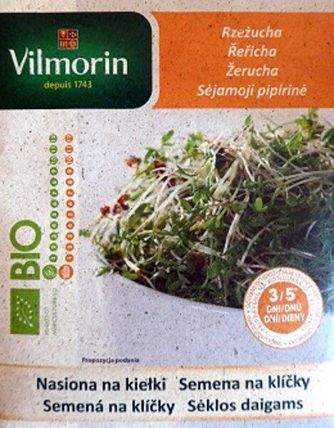 BIO Kreses sēklas diedzēšanai 15 g Vilmorin