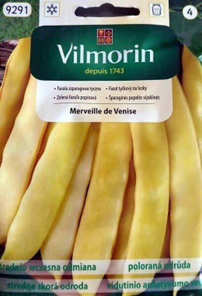 Sparģeļpupiņas Merveille de Venise 10 g Vilmorin