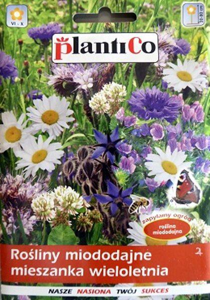 Ziedu sēklu maisījums tauriņu un bišu pievilināšanai daudzgadīgs 10 g PlantiCo