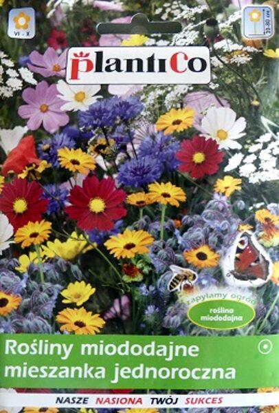 Ziedu sēklu maisījums tauriņu un bišu pievilināšanai viengadīgs 10 g PlantiCo