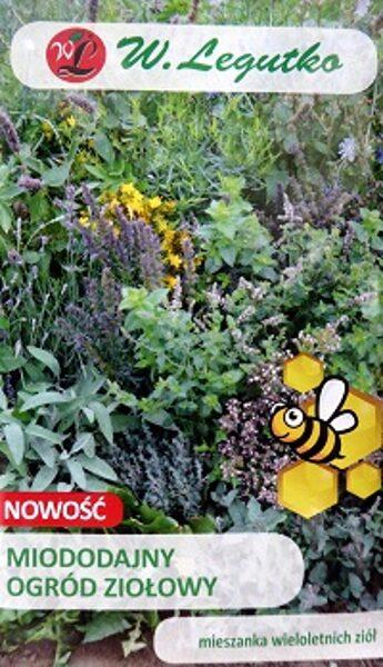 Ziemcietīgo augu MIX Miododajny bišu pievilināšanai 2 g W.Legutko