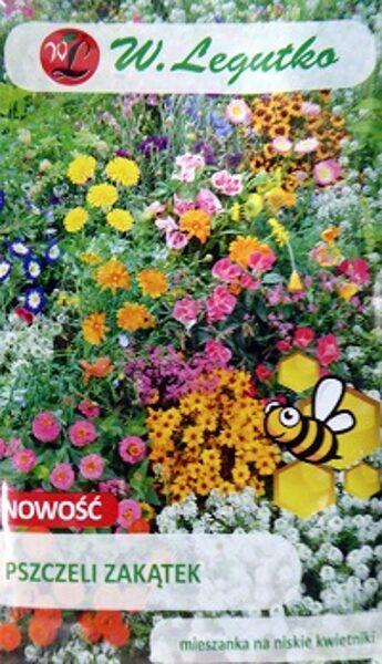 Zemu augu MIX  Pszczeli zakątek bišu pievilināšanai 3 g W.Legutko