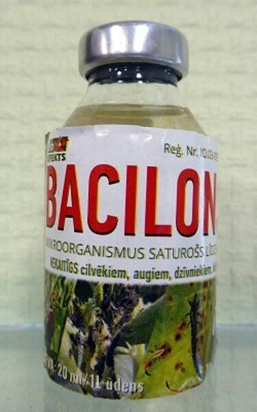 Bacilons šķidrais 20 ml/ 1 litra darba šķidrumam