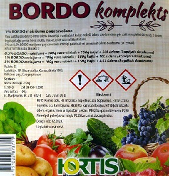 BORDO KOMPLEKTS 250 g