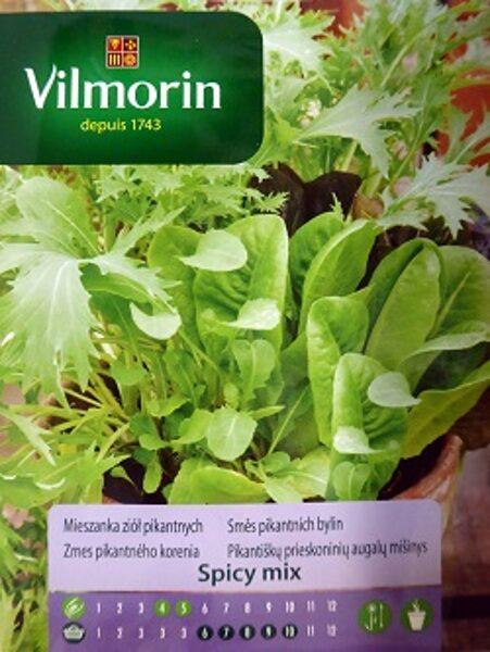 Pikanto zaļumu sēklu maisījums Spicy MIX 2 g Vilmorin