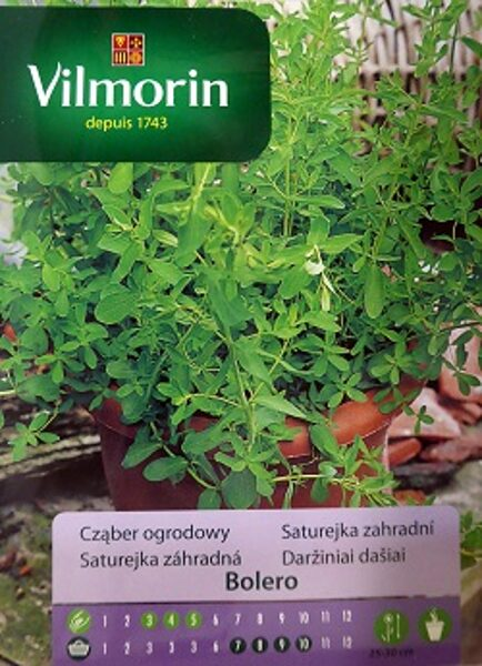 Kalnu pupumētra BOLERO 500 mg  Vilmorin