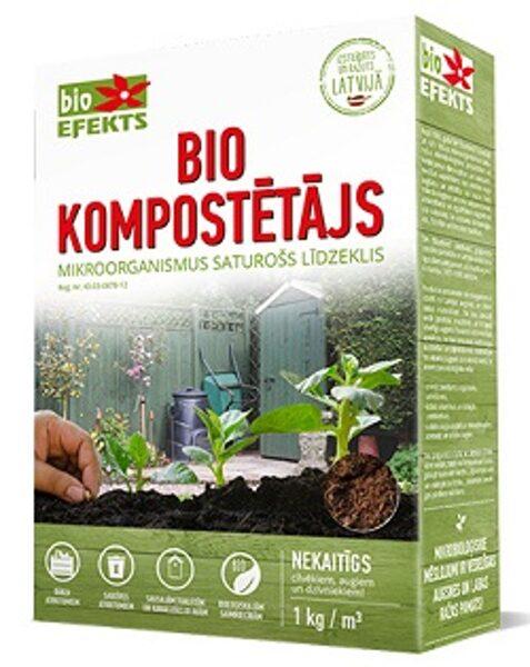 Bio Kompostētājs 1 kg Bioefekts
