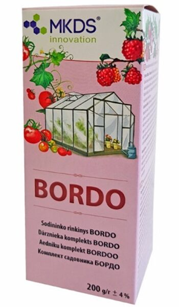 Dārznieka komplekts Bordo 200 g MKDS innovation