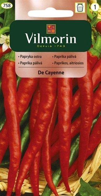 Paprika asā De Cayenne 500 mg Vilmorin