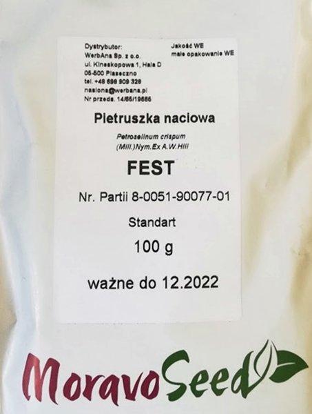 Pētersīļi lapu FEST 100 g Moravo Seed