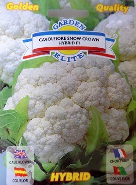 Ziedkāposti Snow Crown F1 0.23 g (apm. 60 gab) Galassi Sementi