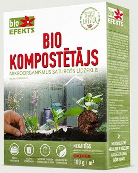 Bio Kompostētājs 100 g/m3 koncentrāts Bioefekts