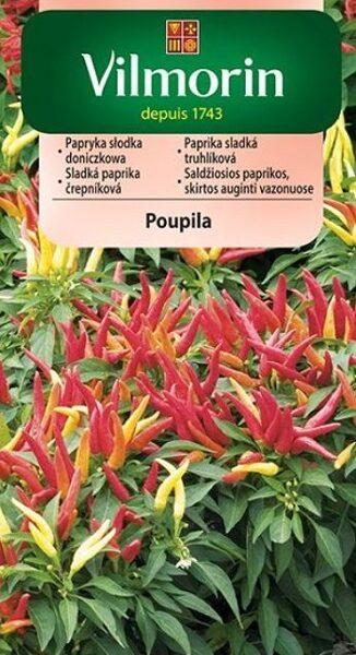 Paprika saldā Poupila 300 mg Vilmorin