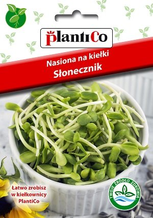 Saulespuķu sēklas diedzēšanai 40 g PlantiCo